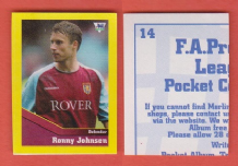 Aston Villa Ronny Johnsen Norway 14 UTL